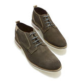 Men's Casual Shoes Medium Brown Stock Photo