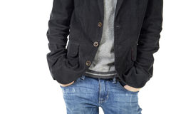 Men's casual style Stock Images