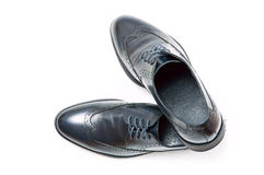 Men's classic shoes Stock Photos