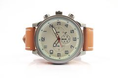 Men`s Classic Wristwatch Stock Images