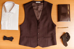 Men's classical clothes Royalty Free Stock Images