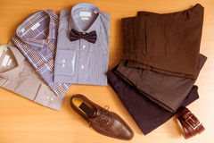 Men's classical clothes Royalty Free Stock Image