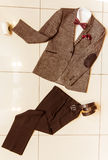 Men's classical clothes Stock Photos