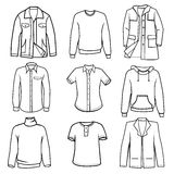 Men's clothes Stock Photos