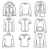 Men's clothes vector illustration