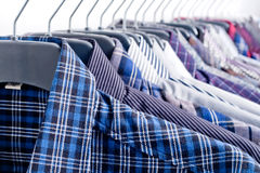 Men's clothing Royalty Free Stock Photography