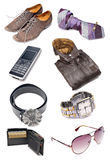 Men's clothing and accessories Stock Photo