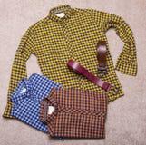 Men's clothing Royalty Free Stock Photo