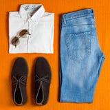 Men' s clothing royalty free stock photos