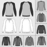 Men`s clothing set Stock Images