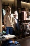 Men's clothing shop Stock Image