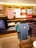 Men's clothing store Royalty Free Stock Photography