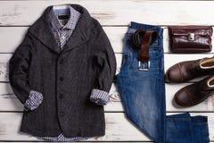 Men's clothing store. Stock Photo