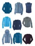 Men's denim jackets Royalty Free Stock Image