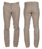 Men`s denim trousers Royalty Free Stock Photos