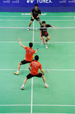 Men's doubles,Badminton asia championships 2011 Stock Images