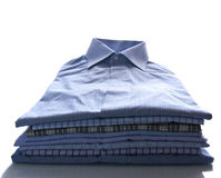 Men's dress shirts Royalty Free Stock Image