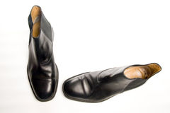Men's dress shoes Royalty Free Stock Photography