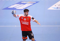 MEN'S EHF CUP DINAMO BUCHAREST - FRAIKIN BM. GRANOLLERS Stock Photo