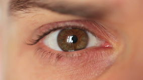 Men's eye closeup Royalty Free Stock Photo