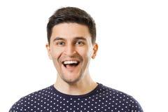 Men`s facial expressions royalty free stock photos