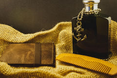 Men`s fashion accessories Royalty Free Stock Image