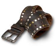 Men's fashion belt Stock Photography
