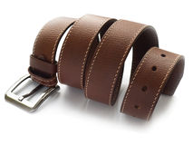 Men's fashion belt Stock Photo