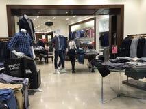 Men's fashion boutiques Stock Images