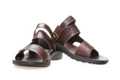 Men's fashion sandals Royalty Free Stock Images