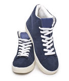 Men's fashion shoes Royalty Free Stock Photography