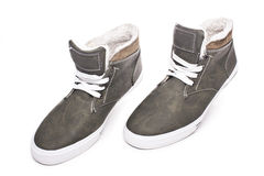 Men's fashion shoes stock images