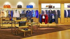Men's fashion store Royalty Free Stock Image