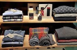 Men's fashion store Stock Photo