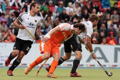 Men's Finals .Hockey European Cup Germany 2011 Royalty Free Stock Photography