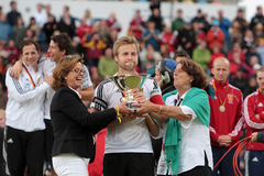 Men's Finals .Hockey European Cup Germany 2011 Stock Images