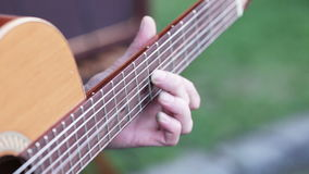 Men's Fingers on odd stock video