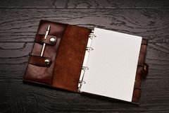 Men`s genuine leather accessories royalty free stock images