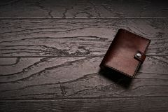 Men`s genuine leather accessories royalty free stock photo