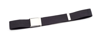Men`s grey belt Stock Photos