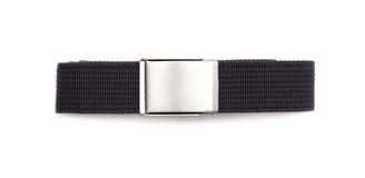 Men`s grey belt Stock Photo