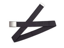Men`s grey belt Stock Images
