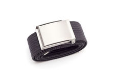 Men`s grey belt Royalty Free Stock Images