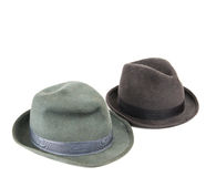 Men's hat isolated Royalty Free Stock Images