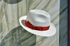 Hat for sale. Men`s hats for sale, part of a series Royalty Free Stock Photo