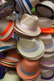 Men's hats for sale Royalty Free Stock Images