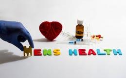 Men's health Photographie stock