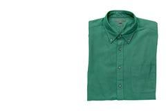 Men& x27; s-Hemd lokalisiert mit Beschneidungspfad Lizenzfreie Stockfotografie