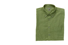 Men& x27; s-Hemd lokalisiert mit Beschneidungspfad Lizenzfreie Stockfotos