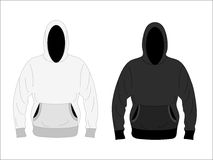 Men's hoodie Stock Photography